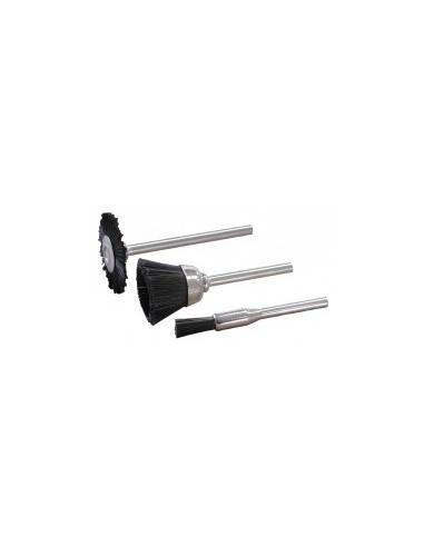 Brosses nylon vrac -  désignation:1 brosse forme:pinceau 4 mm