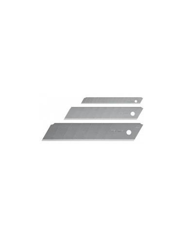 Lames de cutter endura sur carte -  désignation:distributeur de 10 lames largeur:18 mm