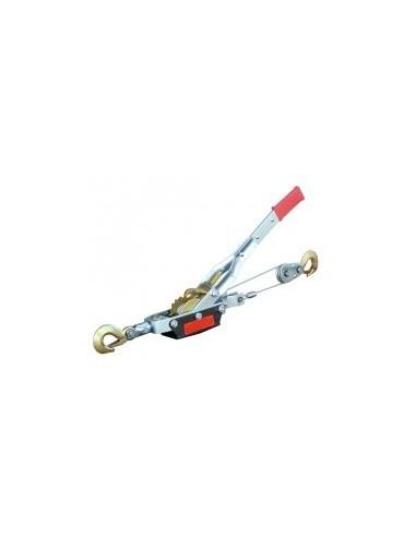 Treuils a levier boîte - capacité:500 kgc,bles:ø 4,8 mm x 2,2 mcrochet:2
