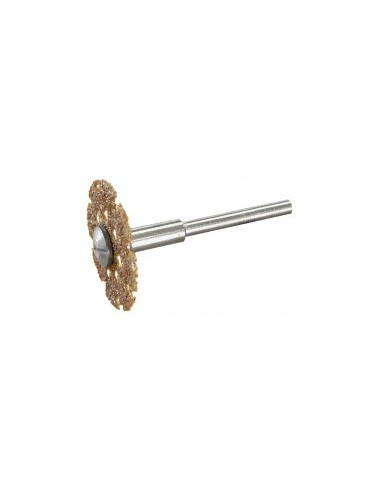 Disque a tronconner au carbure de tungstene sur carte -  désignation:disque carbure tungstène diamètre:25 mm epaisseur:1,2 mmø