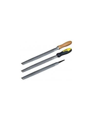 R,pes a bois demi-rondes sur carte -  longueur:200 mmpiqure:b,tardemanche:bois