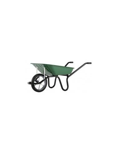 Brouettes vrac - caractéristiques:roue ø380mm avec pneu cranté et jante flasque poids: