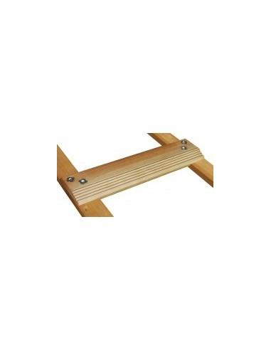 Echelle de couvreur renforcee film rétractable -  longueur:3,12 mentraxe marches:39 cmnb échelons:8 échelons poids:6,5 kg