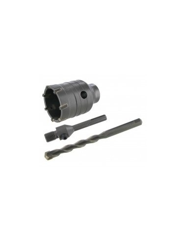 Trepans carbure m16 / sds+ libre service - réf.: désignation:trépan ø 80 mm longueur: