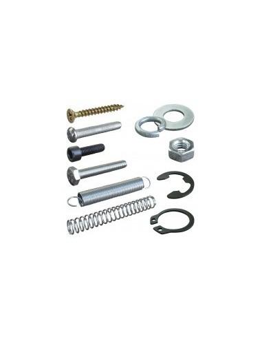 Coffrets de visserie vrac -  désignation:200 ressorts galvanisés de traction et compression composition:comp. 7 à 38 mm / trac.