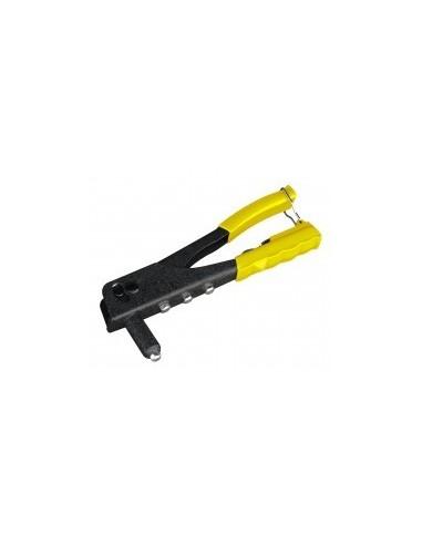 Pince a riveter vrac -  désignation:coffret pince à riveter + assortiment 40 rivetspour rivets:ø 2,4 à 4,8 mm
