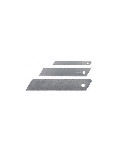 Lames de cutter boîte -  désignation:10 distributeurs de 10 lames largeur:9 mm