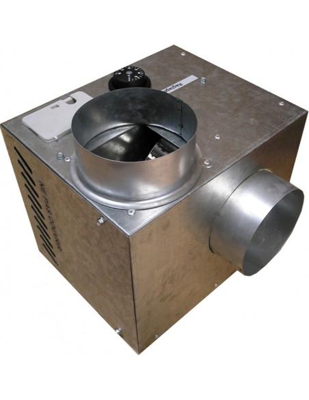 Récupérateur de chaleur Cheminair 400 m3/h - 65W - 400m3/h  Unelvent.