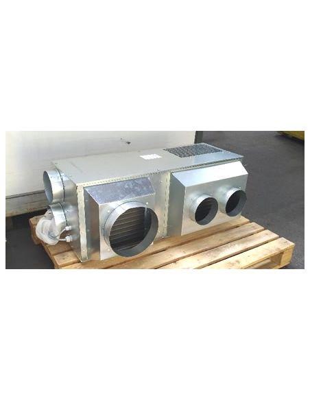 Pompe à chaleur réversible pose en comble gainable sans unité extérieure