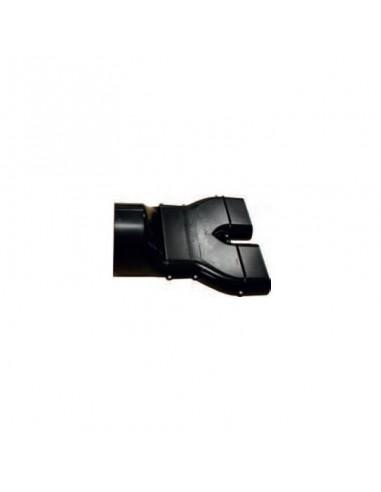Adaptateur Gaine Plate à Ronde 125mm Acr 50125 Pluggit