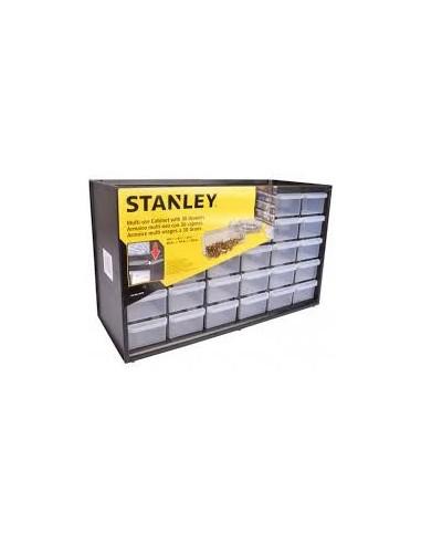 Casiers de rangement vrac -  désignation:casier 30 tiroirs dimensions:365 x 155 x h. 220 mm