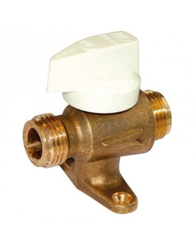 013055 robinet securite r.o.a.i. avec patte double male 1/2