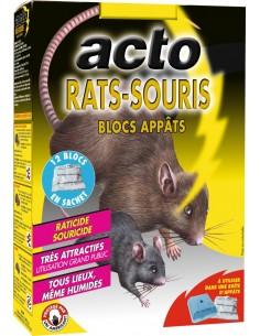 Rats souris blocs app,ts 12 blocs de 20  g
