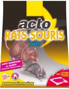 Rat - souris p,te 15 sachets de 10 g