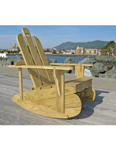 Kit Gabarit DIY de fabrication d'une chaise Rocking-chair