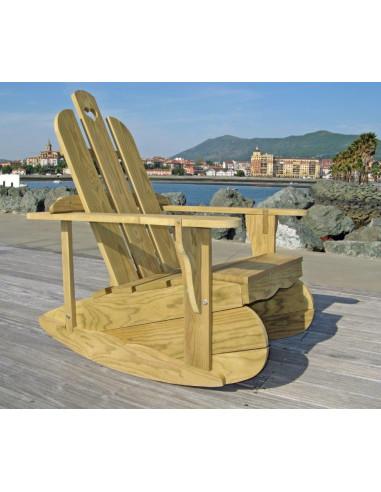 Kit Gabarit DIY de fabrication d'une chaise Rocking-chair