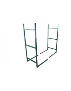 Range bûche modulable de 1 à 20 m et plus - H:1 m - L: 40 cm