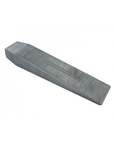 Coin d'abattage 100% aluminium. L: 255mm