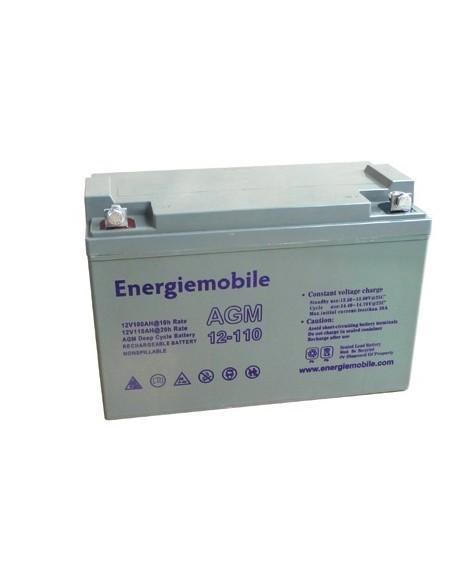 Batterie AGM 12V 60Ah pour utilisation solaire