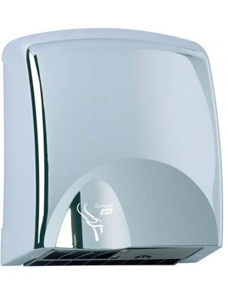 Sèche mains automatique tornade chromé aspect inox JVD