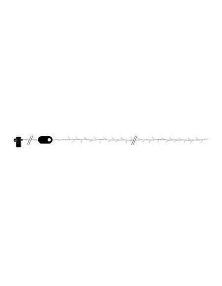 Guirlande à LEDS blanc 10m, animée intérieur-extérieur 24V