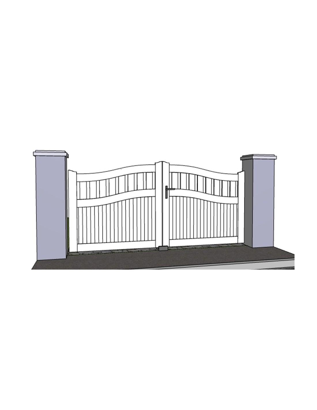 pose portail battant L'Île-Saint-Denis