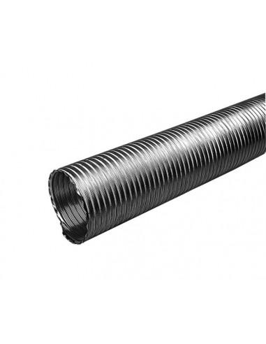 Gaine flexible aluminium Diamêtre 125mm 3 mêtres NATHER