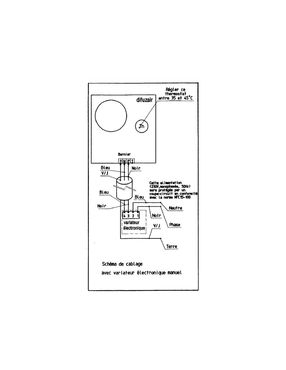 variateur nather pour r cup rateur de chaleur chemin e. Black Bedroom Furniture Sets. Home Design Ideas