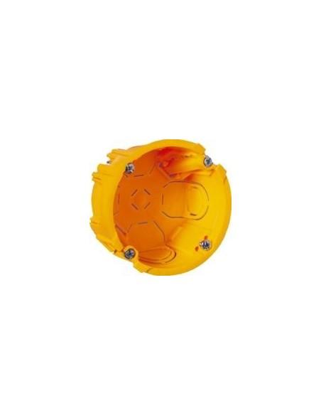 X 10 Boitier cloison sêche  diam 67, prof 40mm LEGRAND batibox