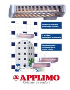 Chauffage d 39 appoint lectrique - Chauffage infrarouge salle de bain ...