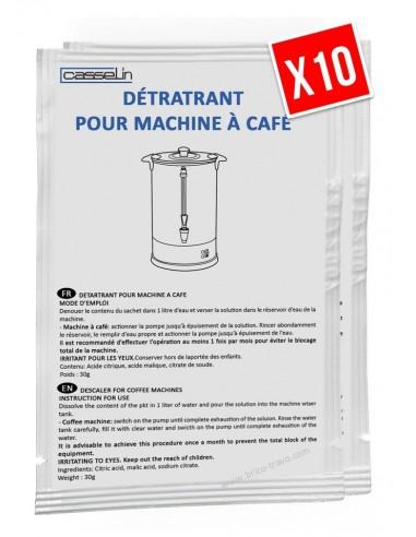 Détartrant pour machine à café et percolateur