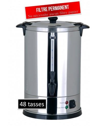 Percolateur à café professionnel 48 tasses