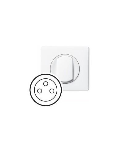 Plaque Niloé blanche (665001) LEGRAND