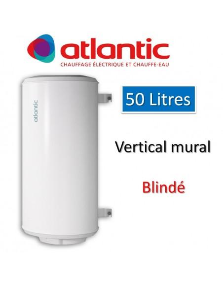 Chauffe-eau 50L Electrique vertical blindé  ATLANTIC