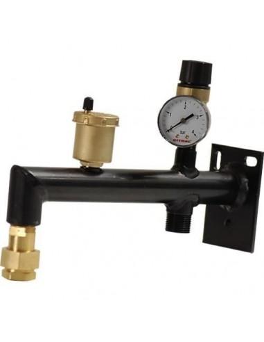 Console pour vase d'expansion équipée/Dim 100x72mm - L 300/SPE-M