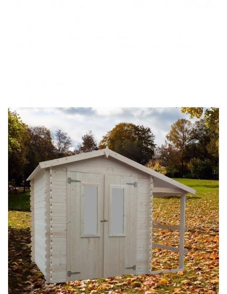 Chalet de jardin en bois 2x2m épaisseur 19mm2