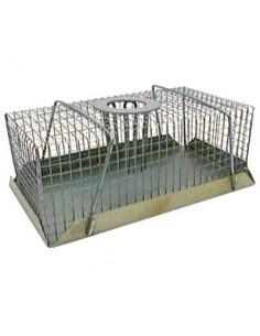 Piège à souris à fond métal vg 18 x 10 x 7