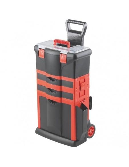 Servante + boite à outils 46x33x74