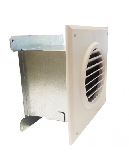 Grille motorisée 120 m3/h de récupération de chaleur cheminée