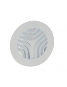 Grille d'aération ronde Ø100 blanche