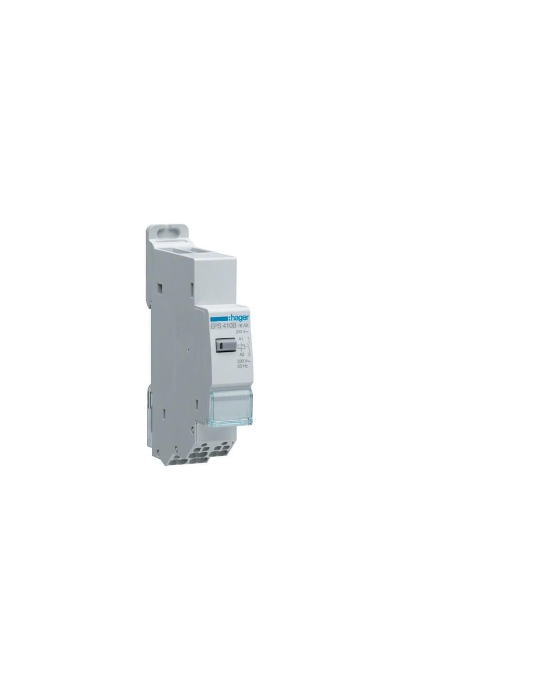 Legrand LEG92710 T/él/érupteur unipolaire silencieux 16 A 230 V~ 1 module