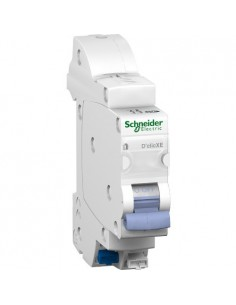 Disjoncteur D'clic XE 1P+N 2 A embrochable